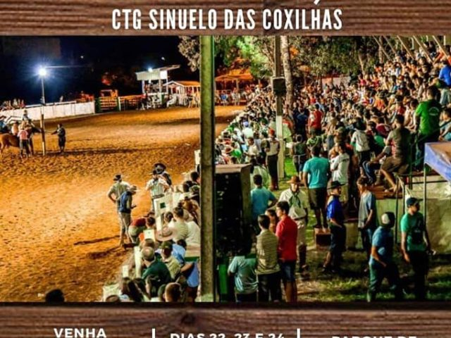 O 47° Rodeio Interestadual do CTG Sinuelo das Coxilhas acontece no próximo final de semans